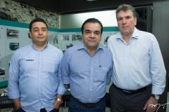 Erivan Sousa, Edman Feitosa e Sérgio Saboia