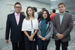Levi Andrade, Nilma Rocha, Cláudio Muniz e Rodrigo Saboril
