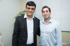 Naumi Amorim e Luiz Guimarães