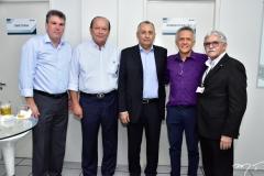 Sérgio Saboia, Rafael Leal, Odilon Peixoto, Adelson Viana e Paulo Tinôco