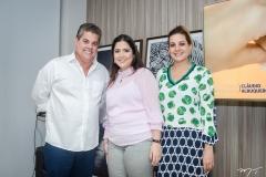 Cláudio Albuquerque, Olga Muniz e Roberta Andrade