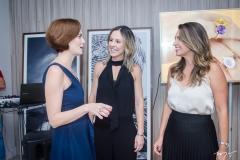 Jussara Regas, Roseane Dias e Márcia Travessoni