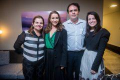 Ana Valéria, Claudia Moreira, José Carlos e Alice Melo