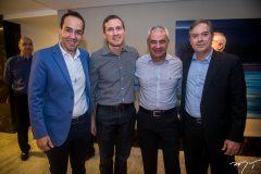 Edson Farias, Alessandro Beneduce, Paulo Freire e Pedro Saboia