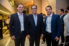 Felipe Albuquerque, Beto Studart e Guilherme Santana