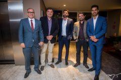 Gustavo Menezes, Deusemar Pessoa, Roberto Teles, Rodrigo Camuça e Caio Lima