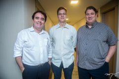 José Carlos, Caio Sousa e Anibal Barroso