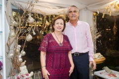 Júlia Philomeno e Alfredo Gurjão