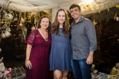Júlia Philomeno, Bia Fiuza e Eduardo Cals