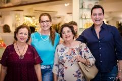 Júlia Philomeno, Marcia Andrea, Elsa Silva e Francisco Campelo