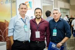 Átila Rocha, Manoel Ferreira e Franco Santos