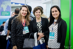 Gerlandia Alves, Hecelina Cavalcante e Priscila Ramos