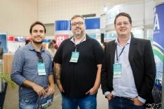 Laercio Avelino, Aldo Pacheco e Carlos Luna