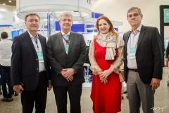Maurício Filizola, Carlos Maia, Enid Câmara e Claudio Bastos