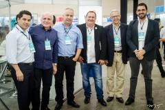 Pompeu Vasconcelos, Ricardo Sabadia, Daniel Cordeiro, Célio Fialho, Antônio Carlos e Raul Viana