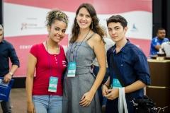 Rakelly Almeida, Caroline Bonfim e Icaro Arruda