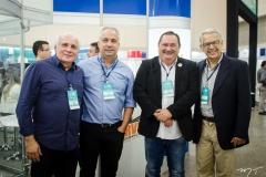 Ricardo Sabadia, Daniel Cordeiro, Célio Fialho e Antônio Carlos