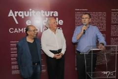 Abertura da exposição Arquitetura e Cidade