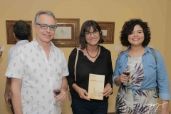 Eduardo Alencar, Clotilde Guimarães e Andreia Duavy