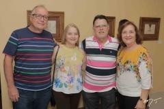 Júlio César Gois, Sônia Figueiro, Sebastião de Paula e Adalgisa Duarte
