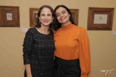 Lara Vieira e Katherine Mihaliuc