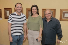 Marcos Bandeira, Lia Brasil e Euler Muniz