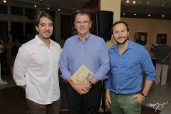 Rodrigo Porto, Randal Pompeu e Thiago Braga