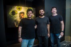 Dario-Matos, Victor-Eleutério-e-Rafael-Neves