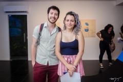 André Felipe e Érica Nogueira