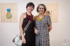 Ângela Vasconcelos e Ana Débora Pessoa