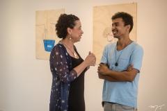Cristiana Moura e Diego de Santos