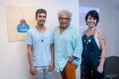 Diego de Santos, Marquinhos Oliveira e Fernanda Lopes