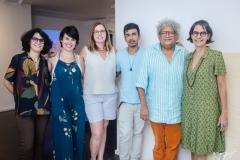 Fabiana Freire, Fernanda Lopes, Jaqueline Medeiros, Diego de Santos, Marquinhos Oliveira e Beth Guabiraba