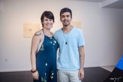 Fernanda Lopes e Diego de Santos