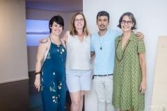 Fernanda Lopes, Jaqueline Medeiros, Diego de Santos e Beth Guabiraba