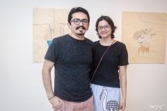 Júlio Pimenta e Cecília Soares