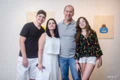 Levi Albuquerque, Renata Albuquerque, Jayson Aguiar e Letícia Albuquerque