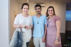 Marcela Brasileiro, Diego de Santos e Mariana Furlane