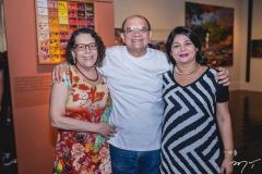 Arminda Cardoso, Stênio Burgos e Catia Teles