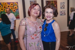 Maria do Carmo Fernandes e Maria Izolete