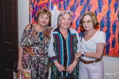 Piedade Burgos, Maria Pedrosa e Silvania Pedrosa