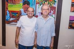 Stênio Burgos e Cláudio Barroso