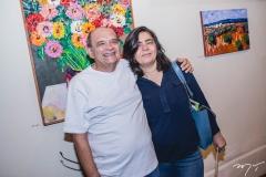 Stênio Burgos e Mona Gadelha