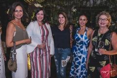 Ana Cristina Mendes, Ana Valeska Maia, Mercia Almeida, Denise Rolim e Márcia Marcan