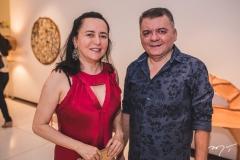 Arileide Veras e Omar Albuquerque