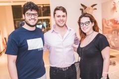 Cadeh Juaçaba, Victor Perlingeiro e Anik Mourão