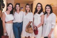 Carlota Bezerra, Gisela Franck, Haina Holand, Roberta Aguiar e Larissa Faco