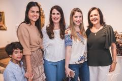 Eduardo Ramalho, Giovana Ramalho, Luciana Bruno, Manoela Pinto e Nazarel Ramalho