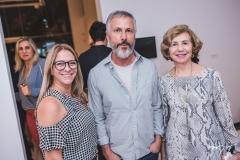 Eliana Mendonça, Humberto Campana e Zelma Camara