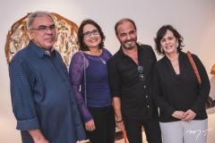 Esdras Guimarães, Andréa Novais, Marcus Novais e Nelma Figueiredo
